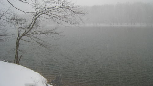 The Potomac in the Snow